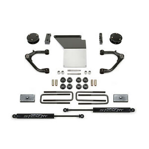 Fabtech K1062m 4 Uniball Uca Lift Kit W rear Shocks For Silverado sierra 1500