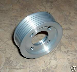 2 80 Magnacharger Tvs 6 Rib 2300 Pulley Corvette Z06