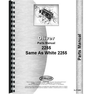 Oliver 2255 Tractor Parts Manual