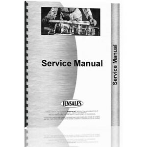 New Oliver F Parts Crawler Service Manual