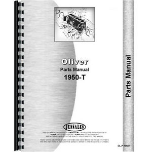 New Oliver 1950 t Tractor Parts Manual