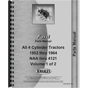 New Ford 860 Tractor Parts Manual