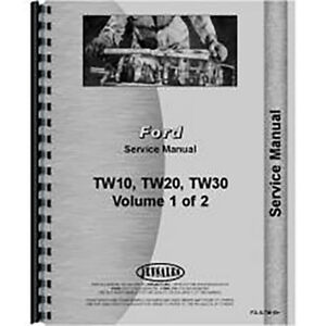 Service Manual For Ford Tw 10 Diesel Tractor