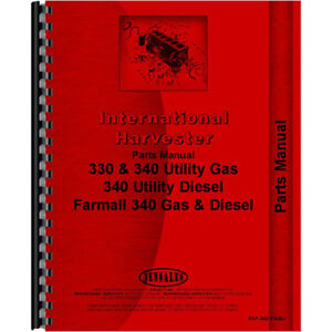 New International Harvester 5514 Tractor Chassis Parts Manual