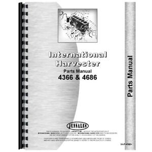 New International Harvester 4366 Tractor Parts Manual chassis Only