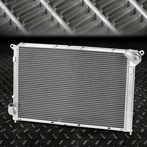 For 02 08 Mini Cooper S 1 6l Supercharged R52 53 2 row Aluminum Racing Radiator