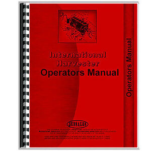International Harvester 45 Vibra Shank Cultivator Operator s Manual