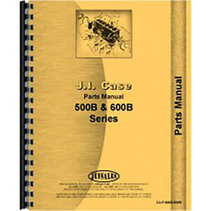 Parts Manual For Case 610b 611b gas And Lp Tractor