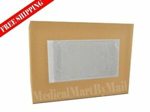 Clear Packing List 5 5 X 10 Plain Face Shipping Mailing Envelope 3000 Pieces