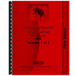 New Farmall 400 Tractor Parts Manual lp Only