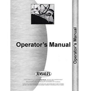 For Caterpillar Ripper Attch 933 59d1 up Operator s Manual new
