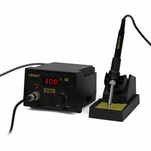 New Yihua 937d Anti static Constant Temperature Soldering Station 45w 110v 220v