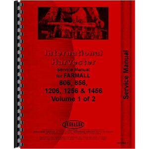 New International Harvester 826 Tractor Chassis Only Service Manual