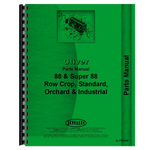 New Oliver 88 Tractor Parts Manual