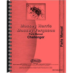 New Massey Harris Challenger Tractor Parts Manual