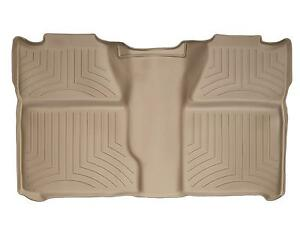 Weathertech Floor Mat Floorliner For Silverado Sierra Crew Cab 2nd Row Tan