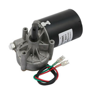 Dc 12v 42rpm Shaft High Torque Left Worm Gear Motor Speed Reducer