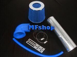 Blue For Long 1997 2004 Jeep Cherokee Grand 4 0l I6 Air Intake Kit Filter