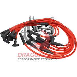 Dragon Fire Performance Hei Spark Plug Wire Set for 1987 1995 Chevy 305 350