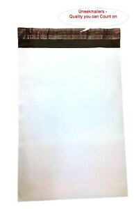 5 x7 Poly Mailers Shipping Envelope Plastic Bags 1 7 Mil 1 100 200 500 1000