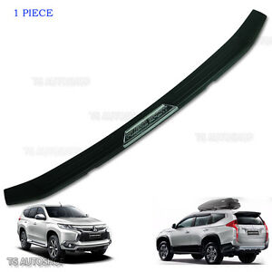 Rear Tailgate Bumper Guards Cover 2016 2017 Fits Mitsubishi Pajero Sport Suv 4x4