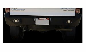 Dv8 Offroad Rbtt1 01 Black Scratch Resistant Rear Bumper For Toyota Tacoma