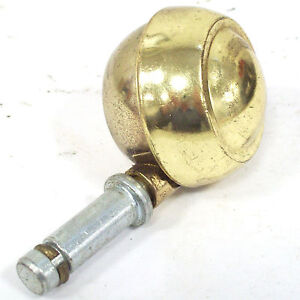 Bassick Grip Ring Brass Ball Furniture Caster C176 Lot Of 20 Each