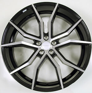 Rosso Icon 22 X 8 5 Black B2 Rims Wheels Lincoln Mkt 10 Up 5x114 3 40