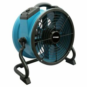 Xpower X 34tr 115 volt 1 4 Hp 3600 cfm Sealed Motor Industrial Axial Air Mover