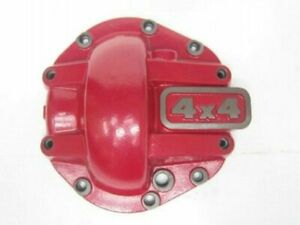 Dana 44 Super Thick Cast Nodular Iron Red Differential Cover Front rear Fit Jeep