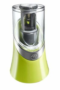 Westcott Ipoint Evolution Battery Operated Pencil Sharpener Bright Green 15481