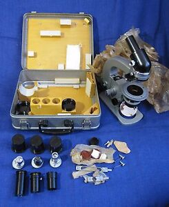 Polarising Pol Portable Field Microscope Mpd 1 Lomo Zeiss Petrographic Geology