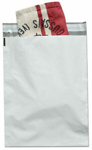 Poly Mailers Self Seal Plastic Bags 3 Mil Polymailer Envelopes 9 X 12