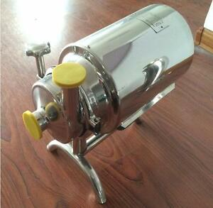 Stainless Steel Sanitary Pump Sanitary Beverage Milk Delivery Pump 3t h 0 75kw E