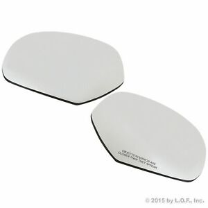 Driver Passenger Ds Ps Left Right Lh Rh Mirror Side Glass Chevy Gmc Truck Suv