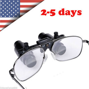 Fdace Dental Loupes 6 5x 300 500mm Medical Surgical Glasses Loupe Lens Magnifier
