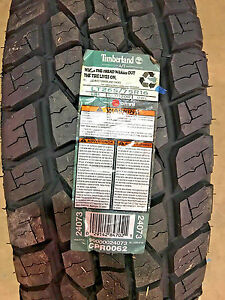 4 New Lt 265 75 16 Lre 10 Ply Timberland A t Tires