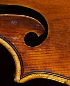 Very Old Labelled Vintage Violin Giuseppe Ornati 1937 Geige Viola