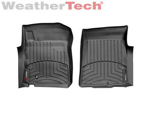 Weathertech Floor Mats Floorliner For Ford F 150 Reg Ext Cab 1st Row In Black
