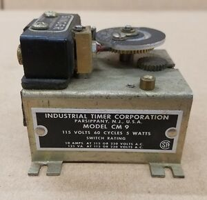 Industrial Timer Company Cm Programmable Timer Cm 9