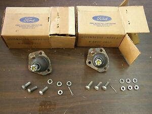 Nos Oem Ford 1960 1961 1962 Falcon Upper Control Arm Ball Joints Pair