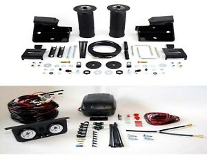 Air Lift Suspension Air Bag Dual Path Leveling Kit For Sierra Silverado 1500