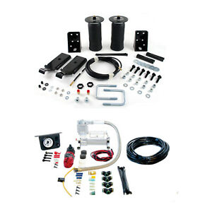 Air Lift Control Air Spring Dual Path Leveling Kit For 2000 2006 Toyota Tundra