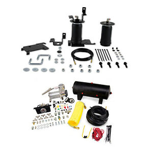 Air Lift Control Air Spring Dual Path Air Compressor Kit For Toyota Tacoma Rwd