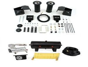 Air Lift Suspension Air Bag Single Path Air Compressor Kit For Silverado 1500