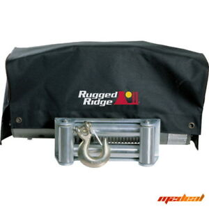 Rugged Ridge 15102 02 Winch Cover For 8 500 To 10 500 Series Jeep Truck Suv