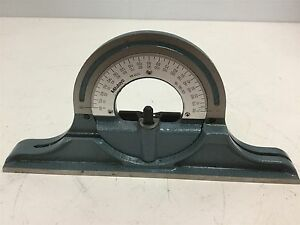 Mitutoyo 180 301 Protractor Head Hardened For 180 102 Square missing Nut