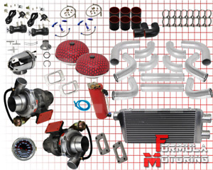 Twin Turbo Sbc Kit Gmc Chevy Blazer Tahoe 305 350 5 7l 1500 Silverado Sierra New