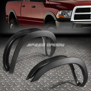For 02 09 Dodge Ram Pickup Paintable Matte Black Oe Style Wheel Fender Flares