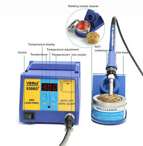 New Soldering Station Constant Temperature Soldering Iron Automatic Shut down